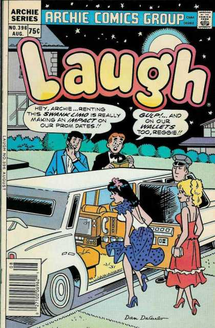 Laugh Comics 396 - Limousine - Chauffeur - Starry Night - Prom Dates - Reggie