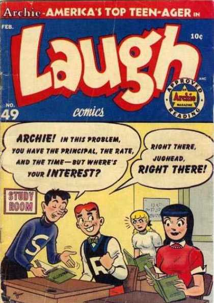 Laugh Comics 49