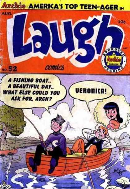 Laugh Comics 52 - Laugh - Archie Comics - Jughead - Veronica - Comics