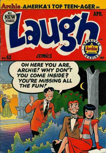 Laugh Comics 62 - Archie - Pretty Lady - Dance - Date - Bench