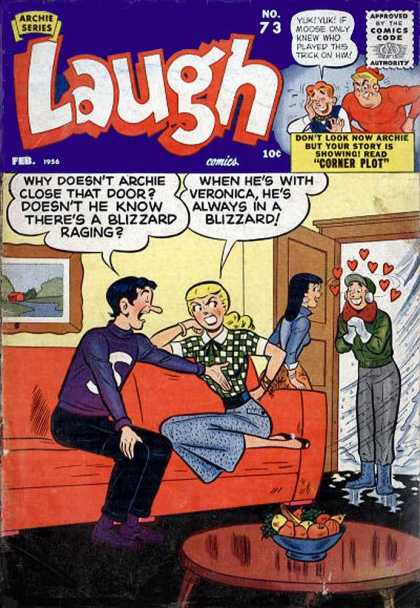 Laugh Comics 73