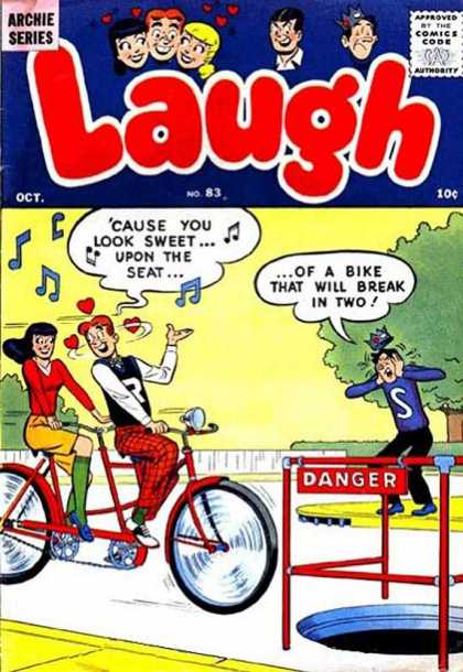 Laugh Comics 83