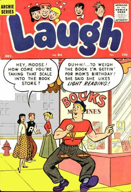 Laugh Comics 84