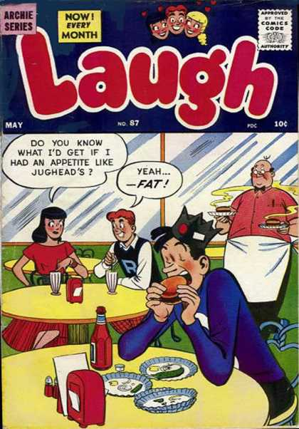 Laugh Comics 87