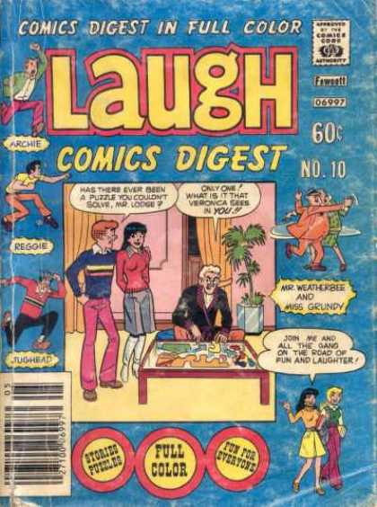 Laugh Digest 10 - Teenagers - Gable - Man - Dancing - Drapes