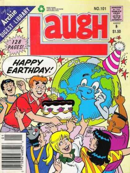 Laugh Digest 101 - The Earth Is Dead - Srew The Earth - The Cake Look Good - Up Go The Cake - The Black Men