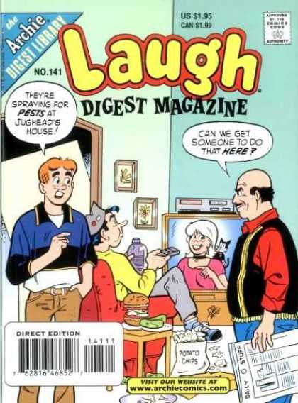 Laugh Digest 141 - Archie Andrews - Jughead - Sabrina - Riverdale - Television