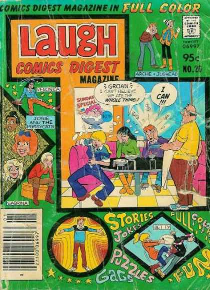 Laugh Digest 26 - Archie - Betty - Veronica - Stars - Dollar Signs
