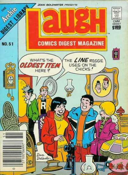 Laugh Digest 51 - Teens - Jackets - Clock - Lamps - Door