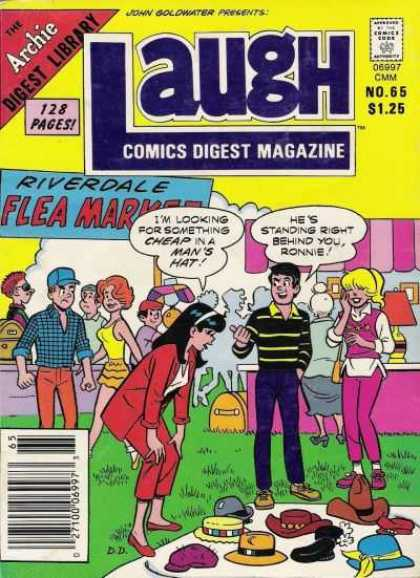 Laugh Digest 65 - Archie - Archie Comics - Funny - Comics Magazine - Joke