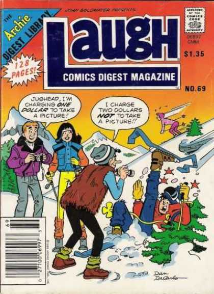 Laugh Digest 69 - Archie - Veronica - Jug Head - Skiing - Snow