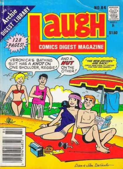 Laugh Digest 84 - Veronica - Reggie - Unbrella - Archie - Beach