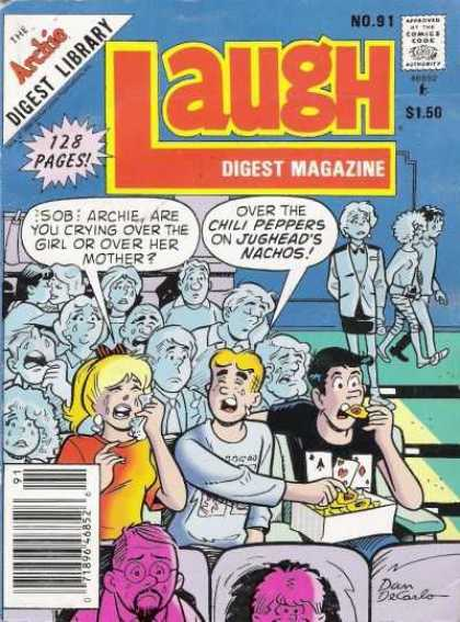 Laugh Digest 91 - Comics Code Authority - Speech Bubble - Betty - Archie - Jughead