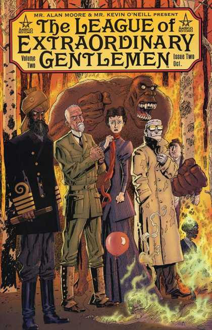 League of Extraordinary Gentlemen 2 2 - Dc - Superhero - Victorian - Alan Moore - Captain Nemo