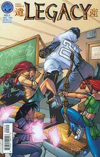 Legacy 2 - Chalkboard - Redhead - Football Jersey - Bow And Arrow - Girls