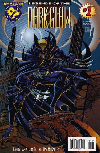 Legends of the Dark Claw 1 - 1 - Larry Hama - Claw - Jim Balent - Dragon
