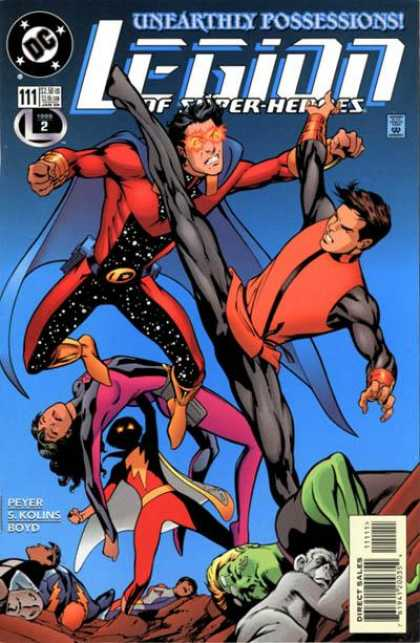 Legion of Super-Heroes (1989) 111 - Alan Davis