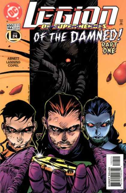 Legion of Super-Heroes (1989) 122 - Damned - Part One - Trio - Evil - Supernatural