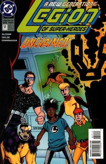 Legion of Super-Heroes (1989) 51 - Legion Of Superheros - Unchained - New Generation - A New Generation Of The Legion - Dc - Stuart Immonen