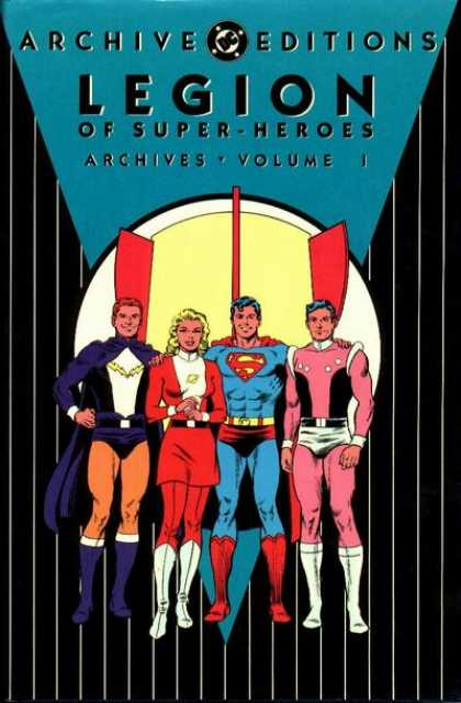 Legion of Super-Heroes Archives 1