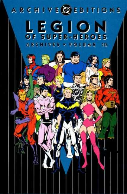 Legion of Super-Heroes Archives 10