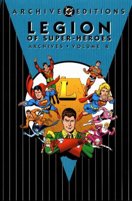 Legion of Super-Heroes Archives 8