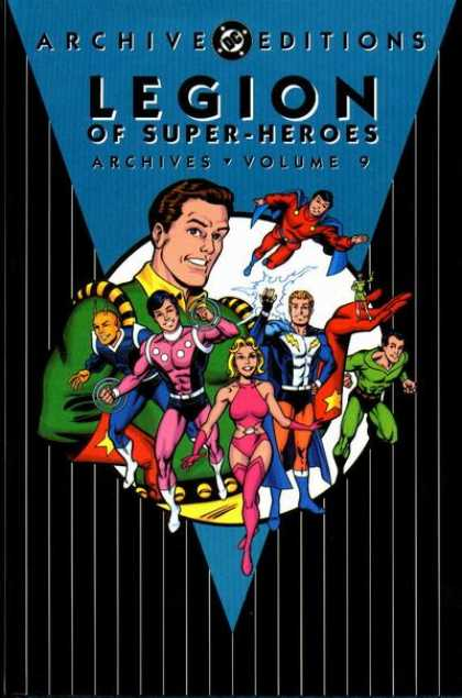 Legion of Super-Heroes Archives 9 - Band Of Superhereos - Bad Guys Beware - Super Powers