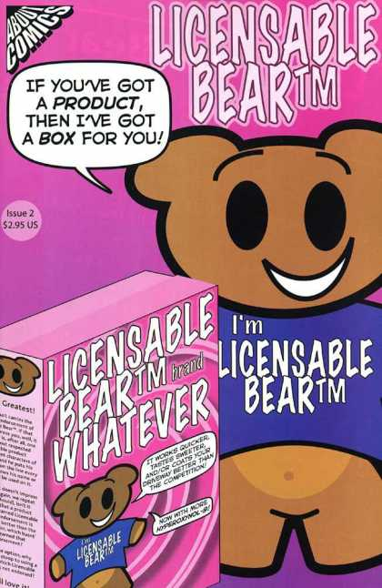 Licensable Bear 2 - About Comics - Bear - Box - Whatever - Issue 2