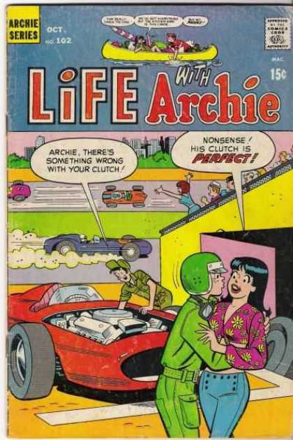 Life With Archie 102 - Archie Series - Racing Car - Audience - Engine - Flirting With Woman