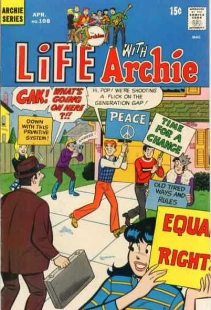 Life With Archie 108 - Archie Series - Timo For A Chance - Boys - Girls - Peace