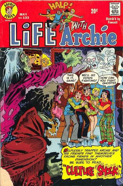 Life With Archie 133 - Halp - Archie Series - Fawcett - Zombie - Ghost