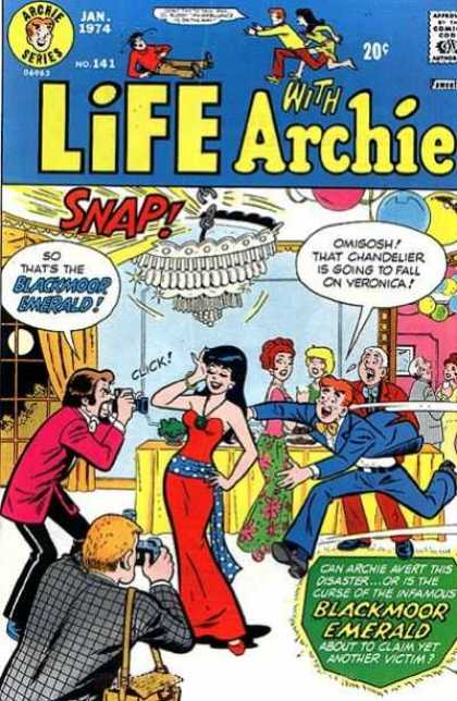Life With Archie 141 - Cartoon - Lady - Man - Camera - Red