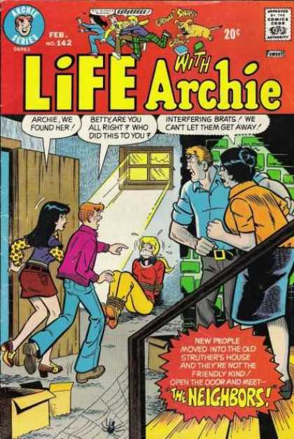 Life With Archie 142 - The Neighbors - Rope - Tie Up - Found Her - Basement