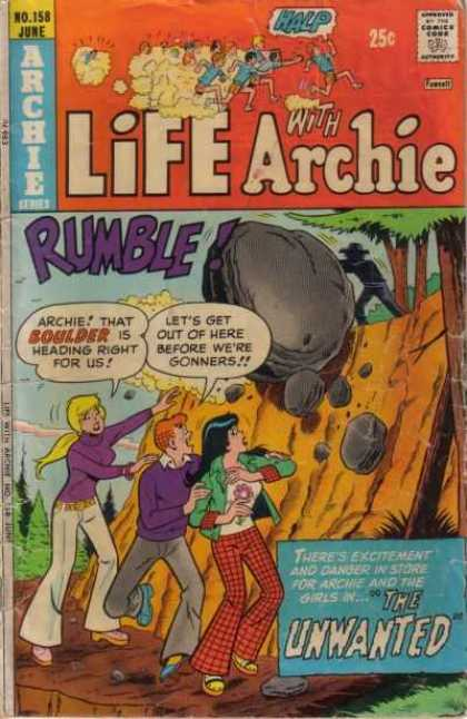 Life With Archie 158 - Life With Archie - Rumble - No 158 - June - Boulder