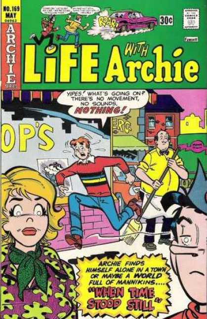 Life With Archie 169 - Mannikins - Archie - Jughead - Veronica - Betty