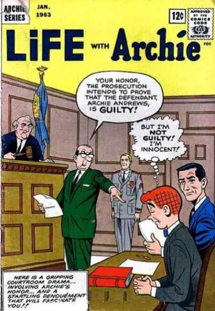 Life With Archie 18 - Judge - Lawyer - Defendant - Prosecution - Courtroom
