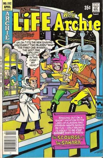 Life With Archie 192 - Bad Guy - Boy - No 192 - April - Swords