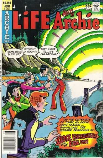 Life With Archie 194 - No194 June - Approved By The Comics Code Authority - Archie Series - Tree - Something Blew Up