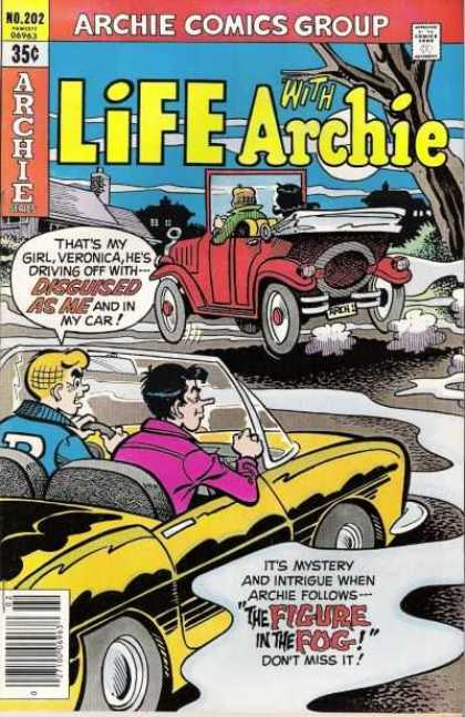 Life With Archie 202 - Archie - Mystery - Follows - Fog - Disguised