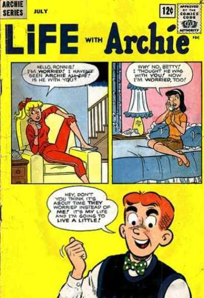 Life With Archie 21 - Life With Archie - Archie Series - Betty - Veronica - Triptych