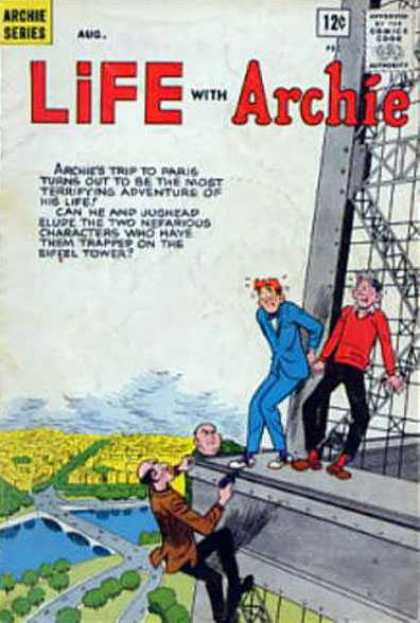 Life With Archie 22 - Exciting - Archie Series - Jugheads Pal - Thugs In Paris - Classic Comic Book