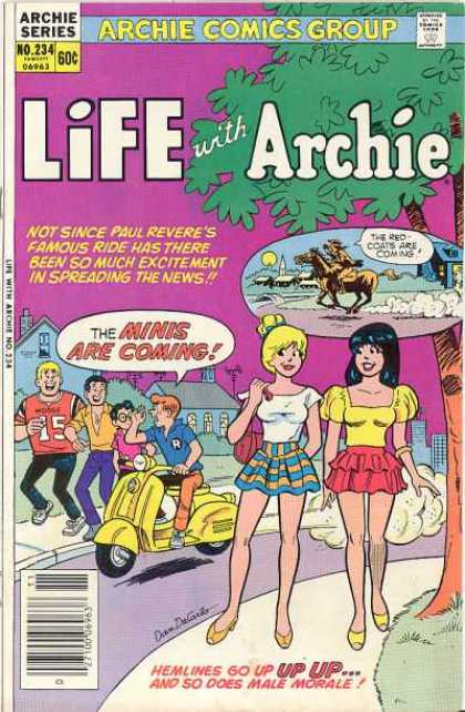 Life With Archie 234 - Paul Revere - Miniskirts - Scooter - Tree