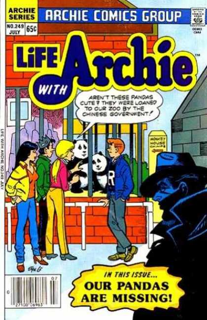 Life With Archie 249 - Zoo - Stranger - Friends - Panda - Scouting - Stan Goldberg