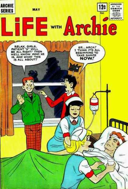 Life With Archie 27 - Nurse - Shadow - Crown - Iv - Patient