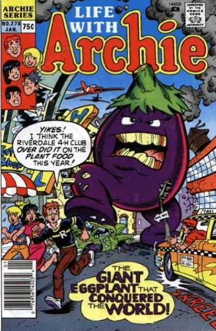 Life With Archie 270 - Giant Eggplant - Riverdale 4-h - Taxi - Planes - City