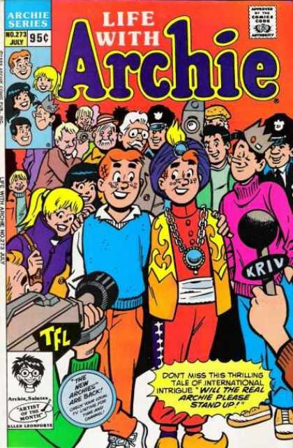Life With Archie 273 - Archie Series - 95 Cents - No 273 - July - Video Camera