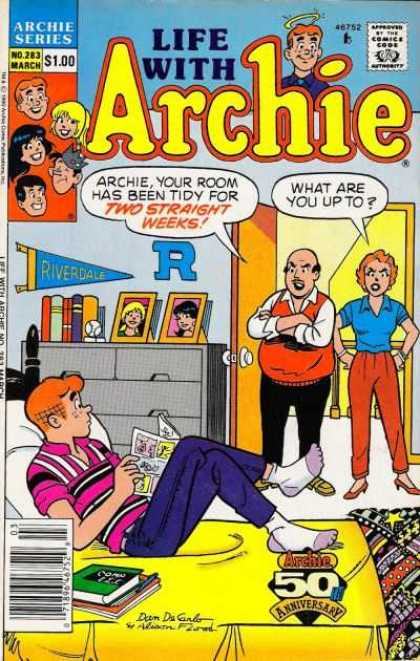 Life With Archie 283 - Teenagers - Parents - Bedroom - Pictures - Books