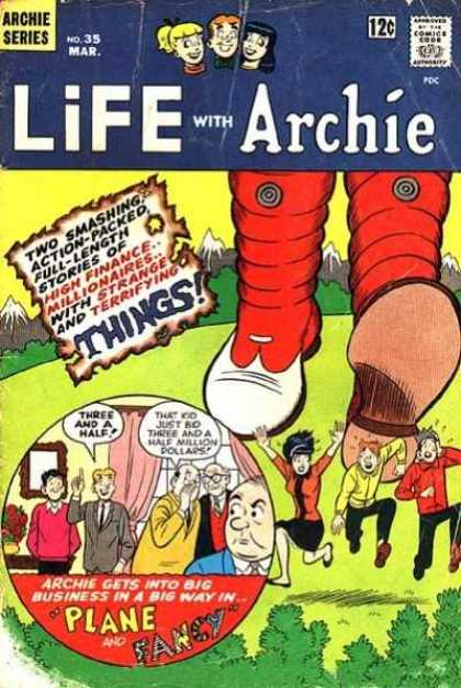 Life With Archie 35 - High Finance - Millionares - Plane - Fancy - No 35