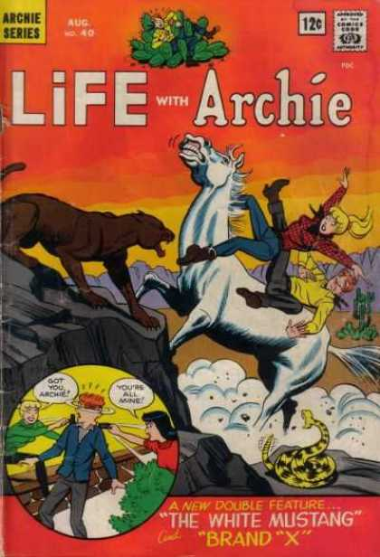 Life With Archie 40 - The White Mustange - Mountain Lion - Cactus - Rattlesnake - Double Feature