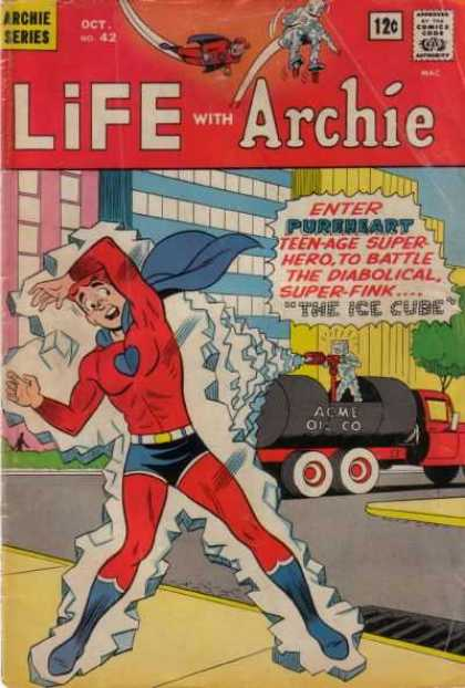Life With Archie 42 - Archie Series - City - Street - Road - Car